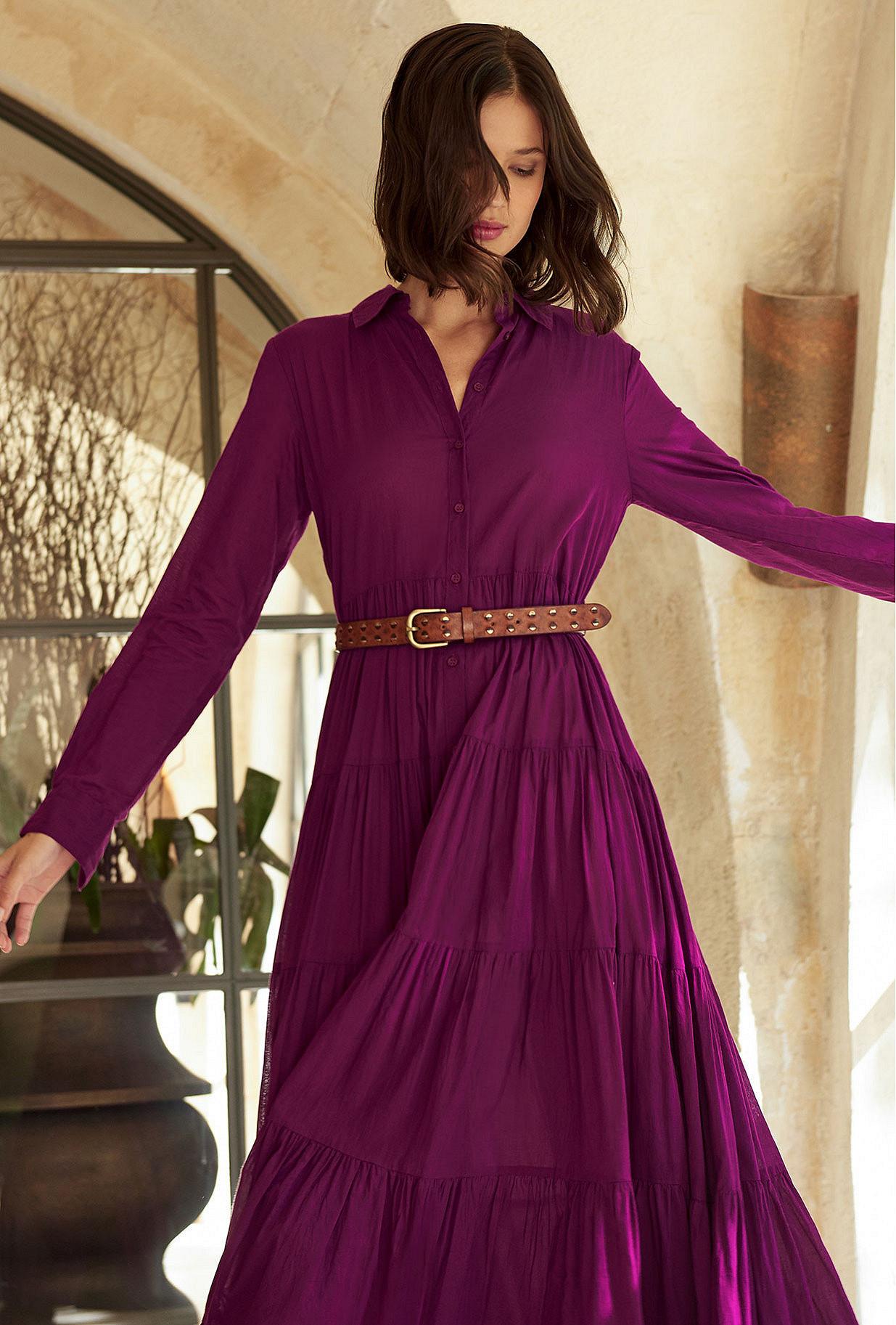 Cognac  Belt  Rotko Mes demoiselles fashion clothes designer Paris