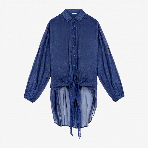 Shirt Chipper Mes Demoiselles color Indigo