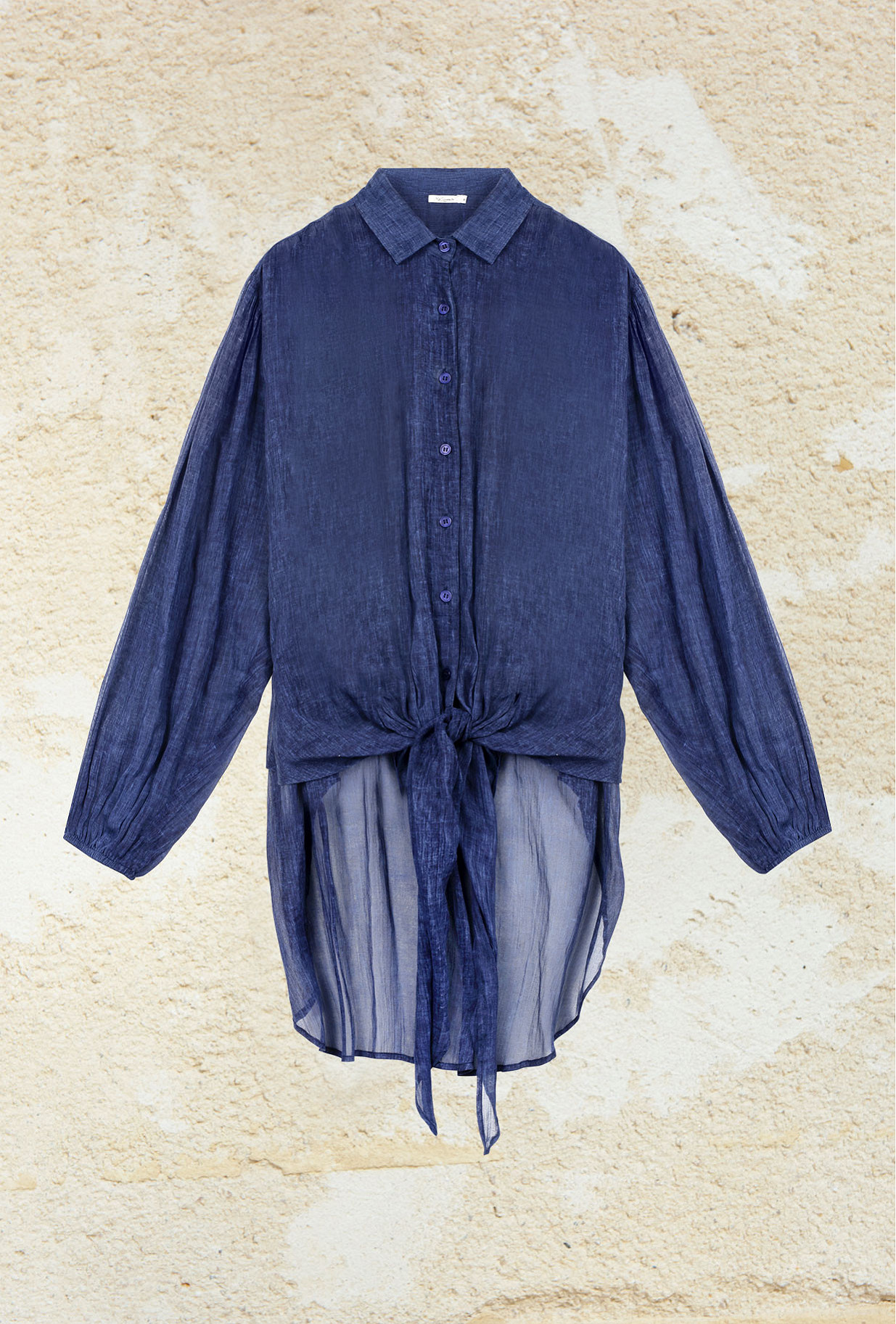 Indigo Shirt Chipper Mes Demoiselles Paris