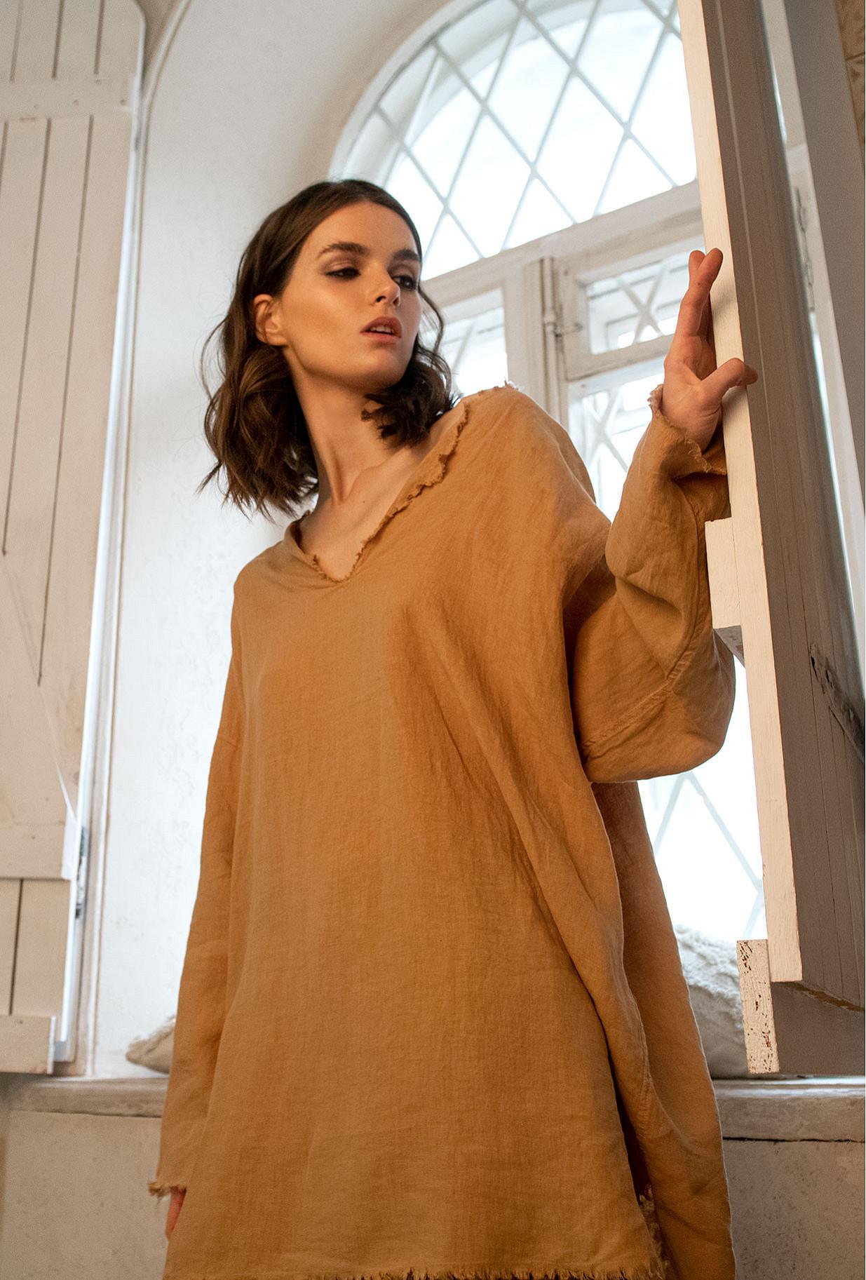 Sand  Blouse  Palawan Mes demoiselles fashion clothes designer Paris