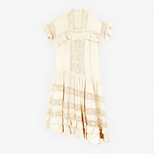 Dress Georgina Mes Demoiselles color White