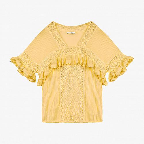 Blouse Gilda Mes Demoiselles color Yellow