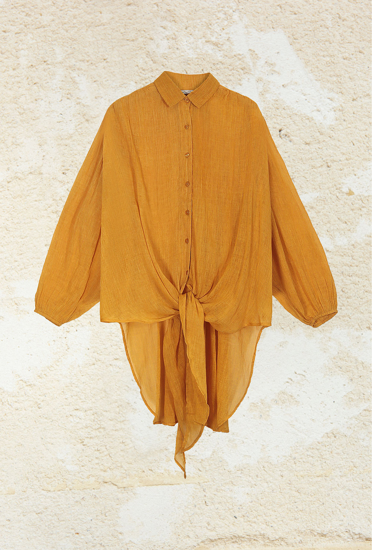 Ocre  Shirt  Chipper Mes demoiselles fashion clothes designer Paris