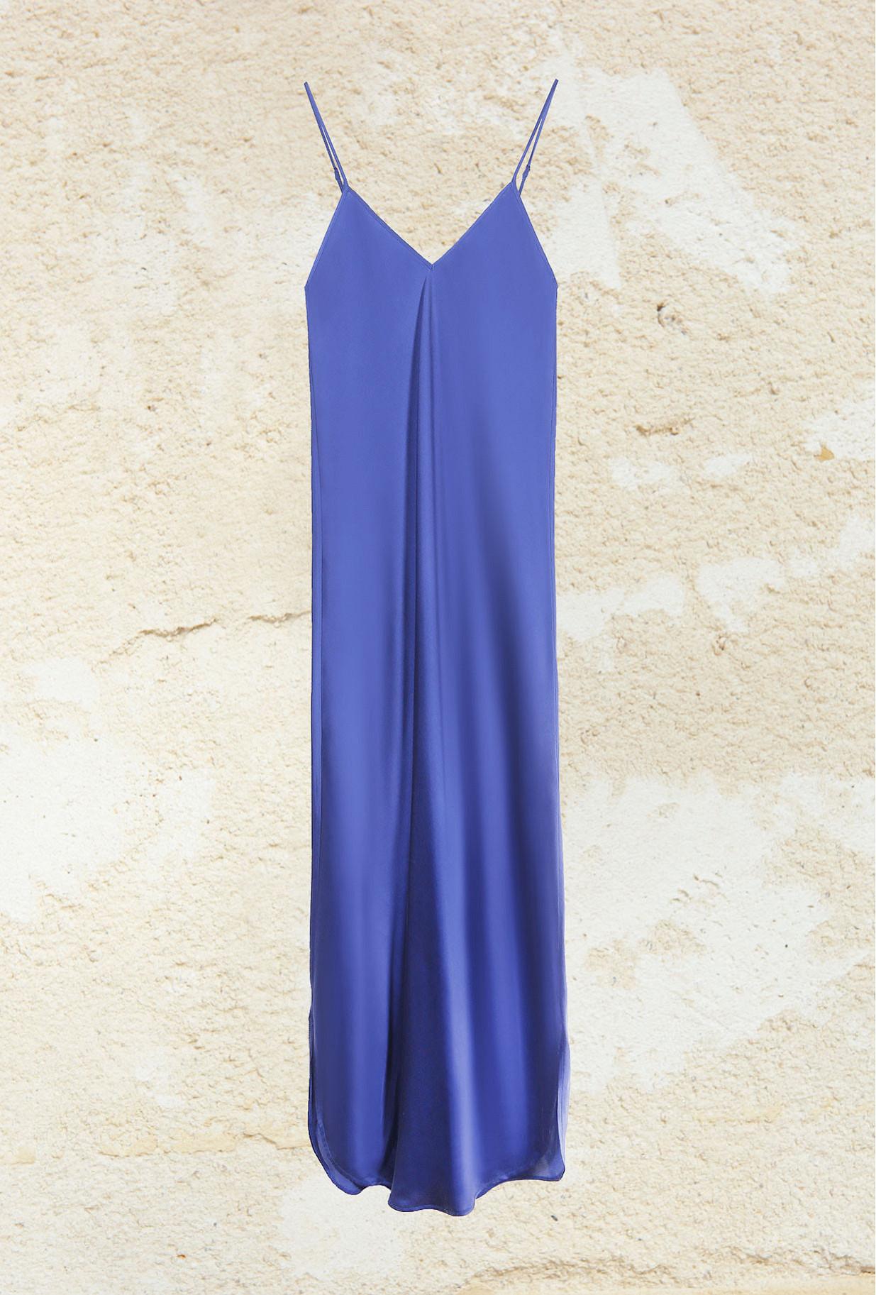 Dress Tess Mes Demoiselles color Blue