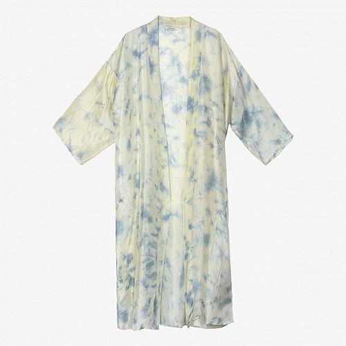 Blue print Kimono Chorus