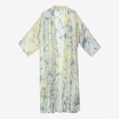 Kimono Chorus Mes Demoiselles color Blue print
