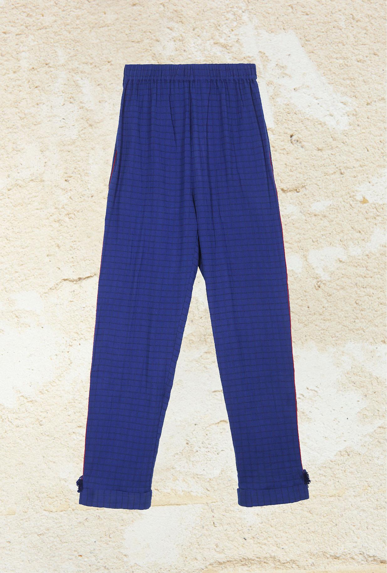Pantalon Bleu Milano