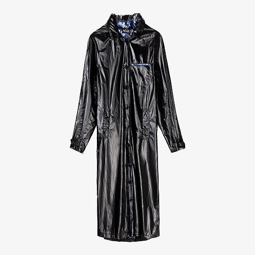 Black blue Coat Churchill Mes Demoiselles Paris