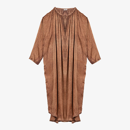 Terracotta  Dress  Lerida Mes demoiselles fashion clothes designer Paris