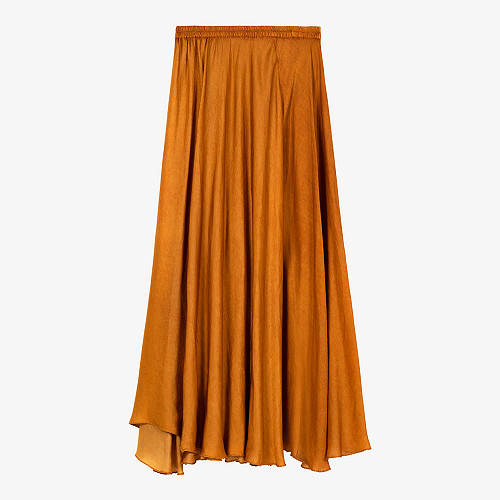Ocre  Skirt  Libre Mes demoiselles fashion clothes designer Paris
