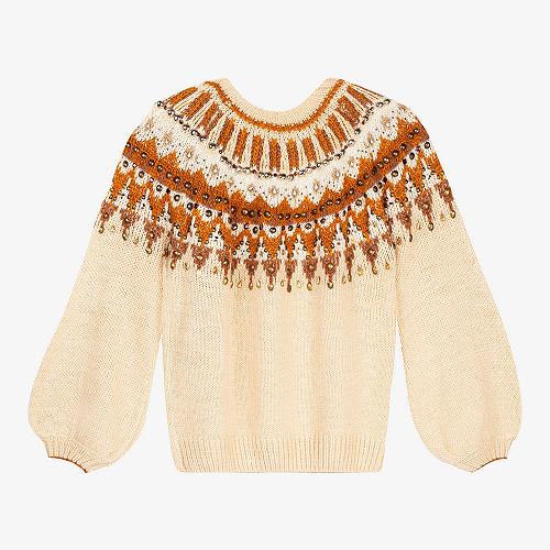 Ecru Sweaters Maharadjah