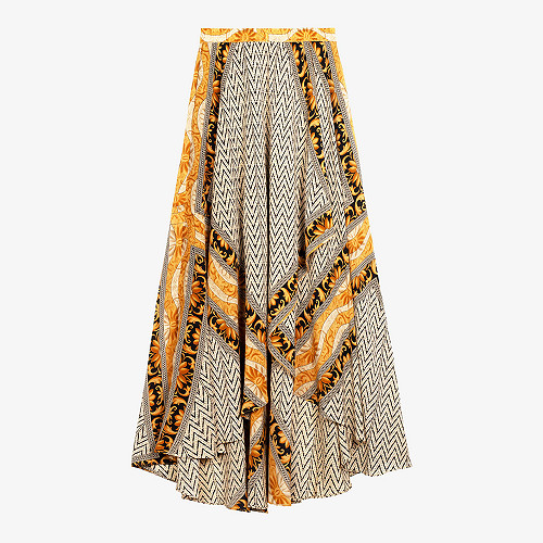 Skirt Shorebreak Mes Demoiselles color Gold print