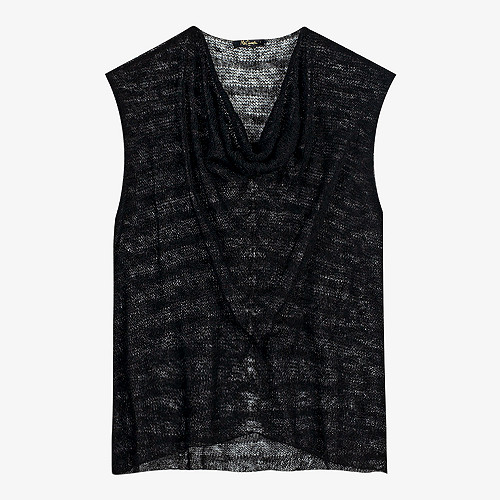 Black  Sweater  Virginia Mes demoiselles fashion clothes designer Paris