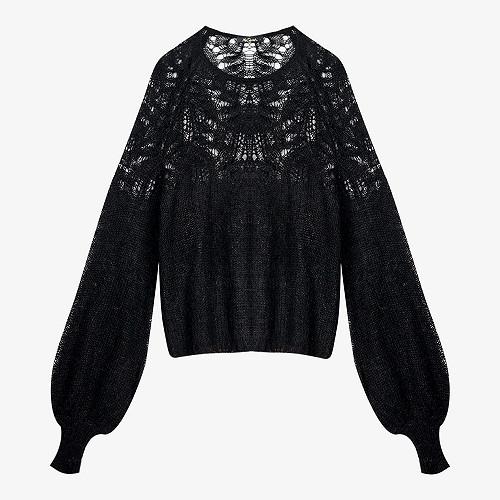 Pulls Noir Vivienne