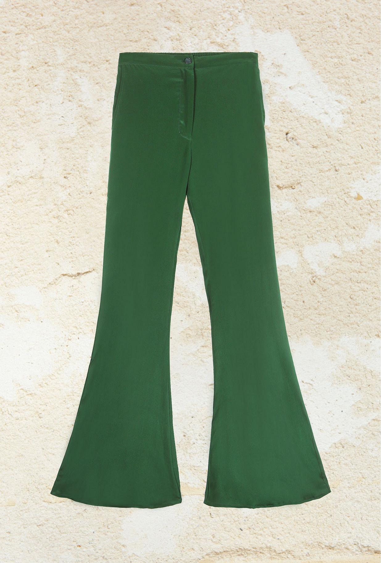 Pantalon Vert  Express mes demoiselles paris vêtement femme paris
