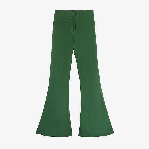 Pant Express Mes Demoiselles color Green