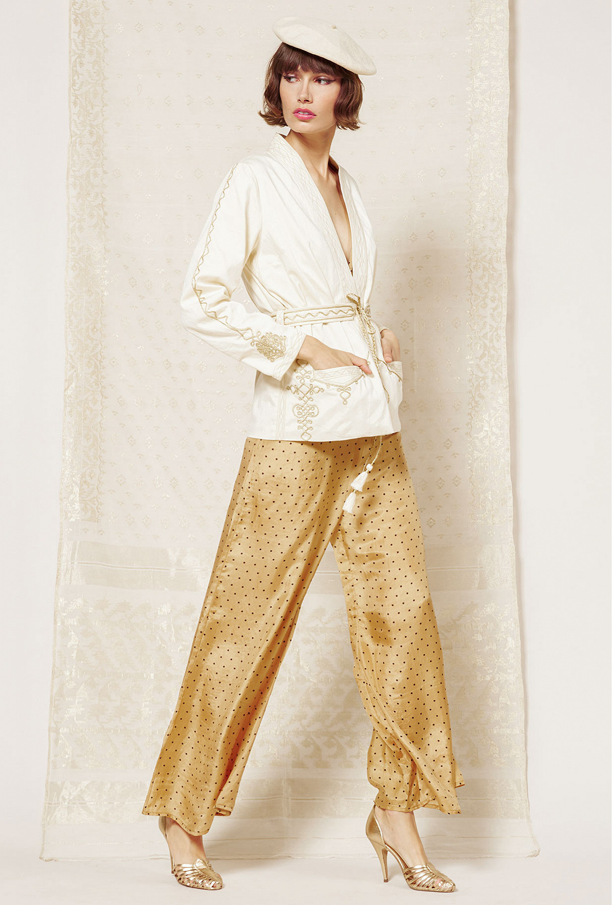 Sand  Pant  Biga Mes demoiselles fashion clothes designer Paris