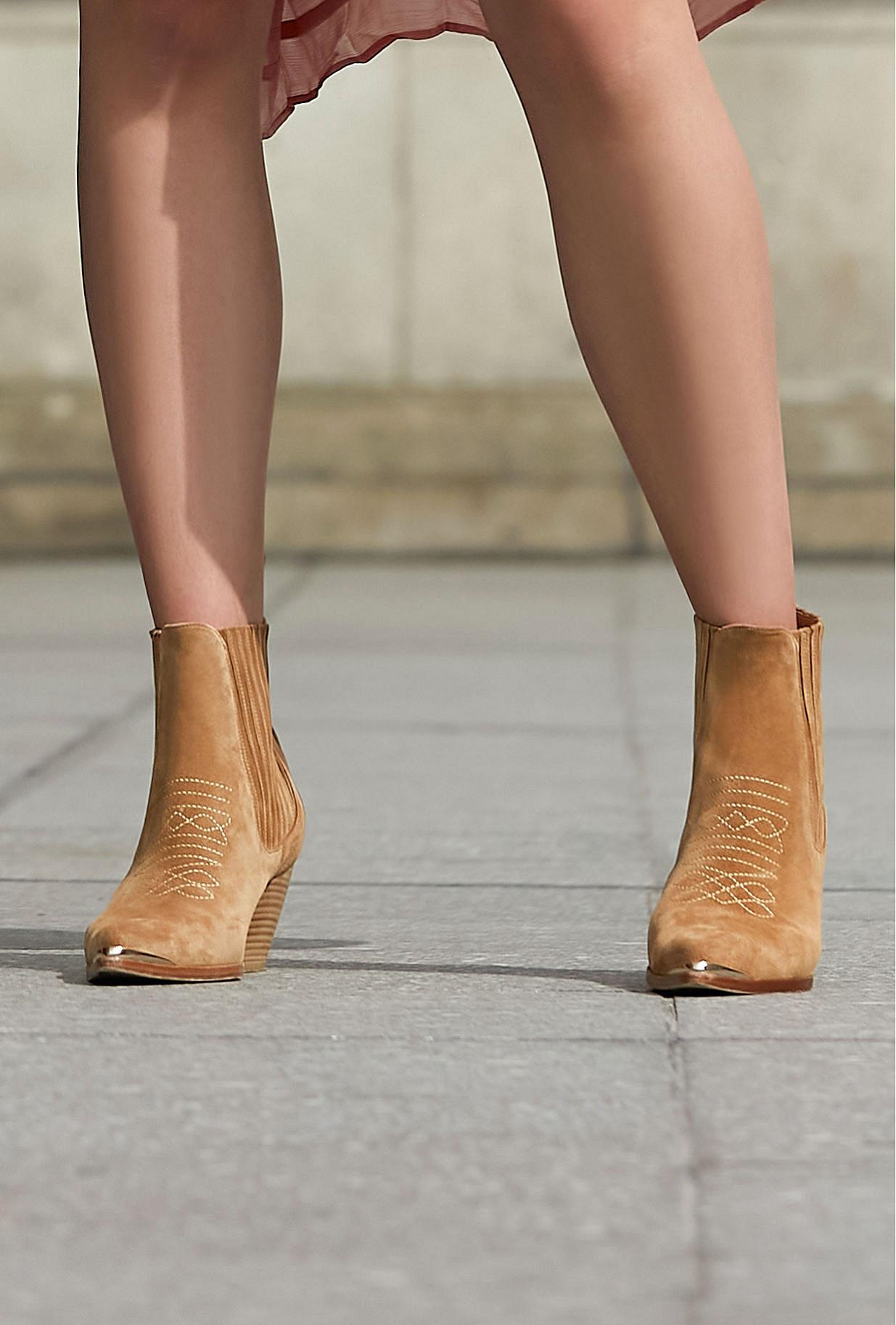 Boots Les Calamitys Mes Demoiselles color Camel