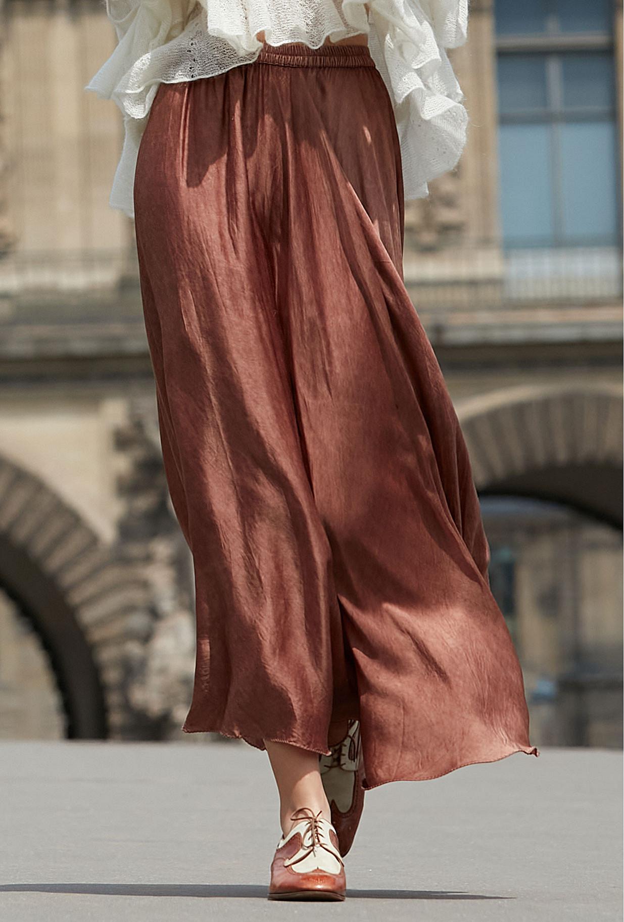 Terracotta Skirt Libre
