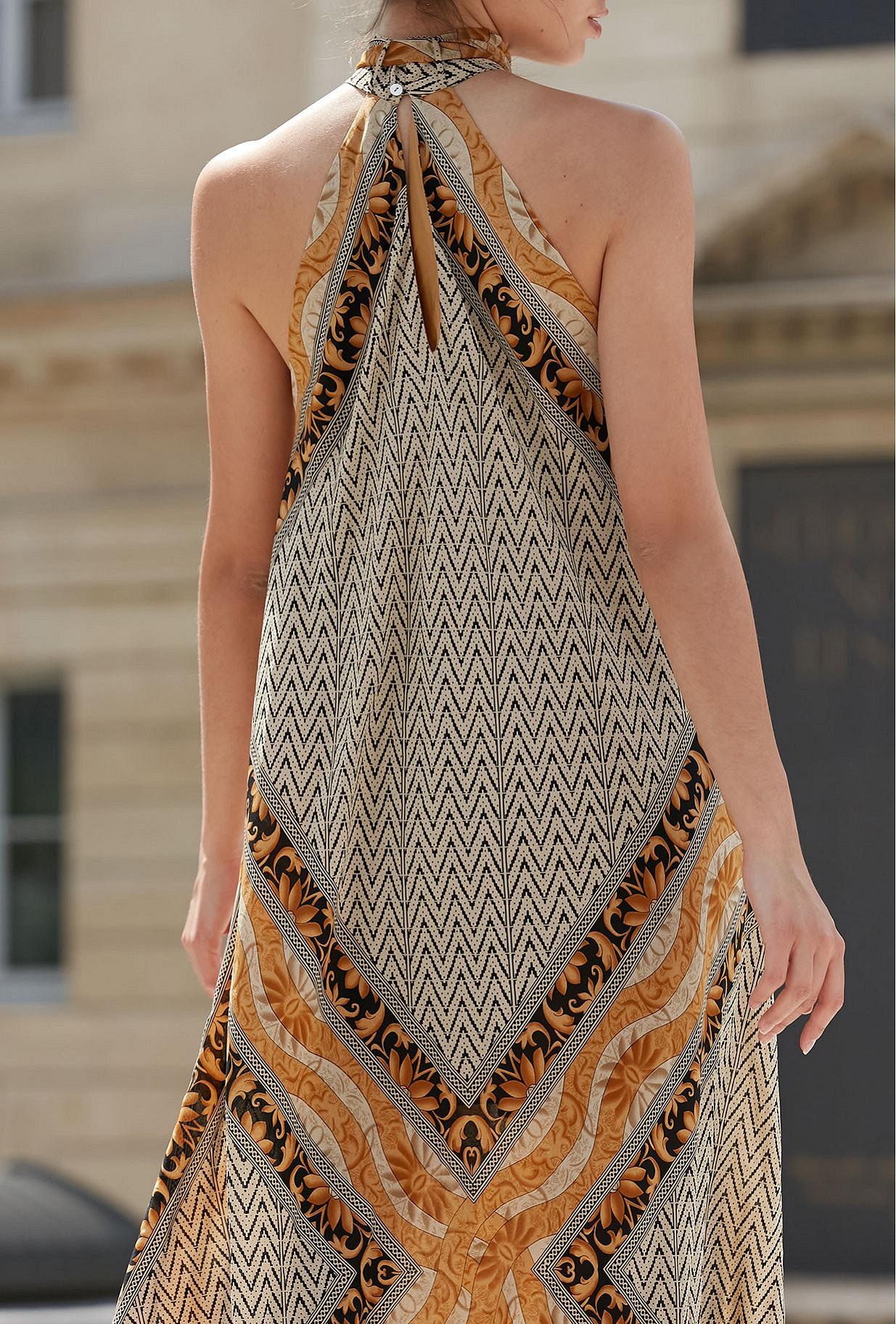 Robe Imprimé Or Scelerate Mes Demoiselles Paris
