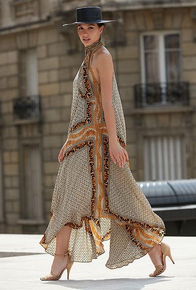 Robe Imprimé Or  Scelerate mes demoiselles paris vêtement femme paris