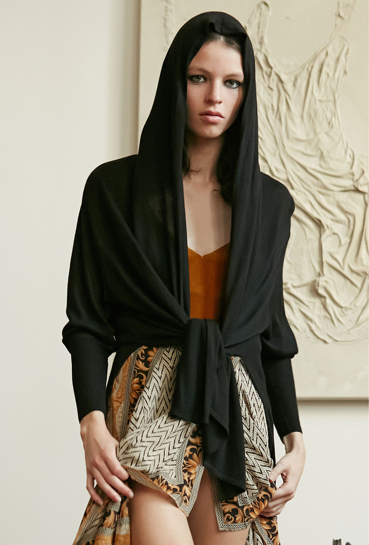 Cardigan Sinatra Mes Demoiselles color Black