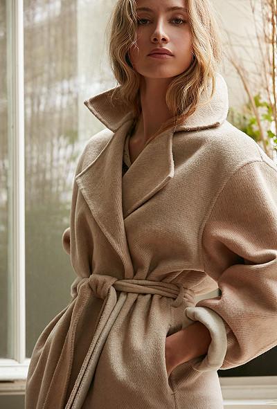 Beige print  Jacket  Sundowner Mes demoiselles fashion clothes designer Paris