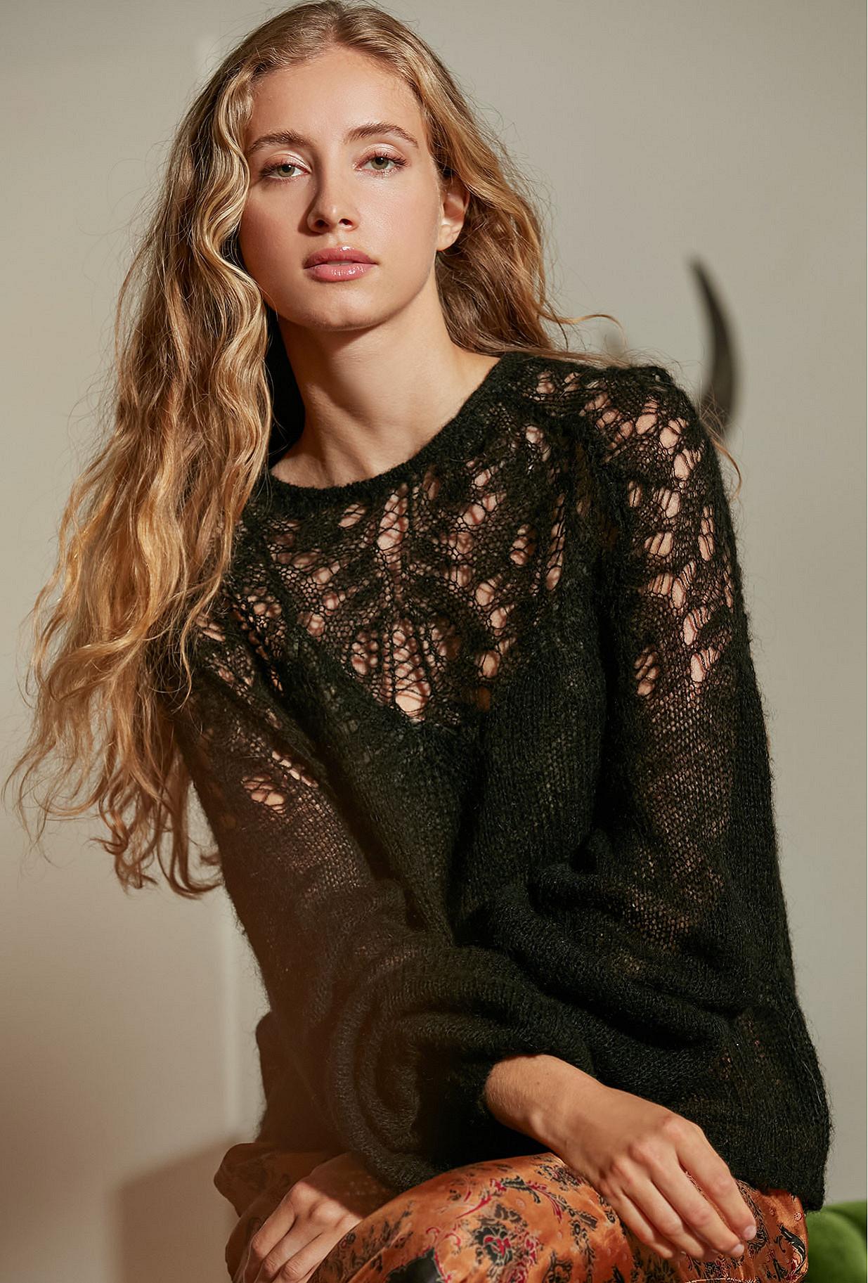 Black  Sweater  Vivienne Mes demoiselles fashion clothes designer Paris