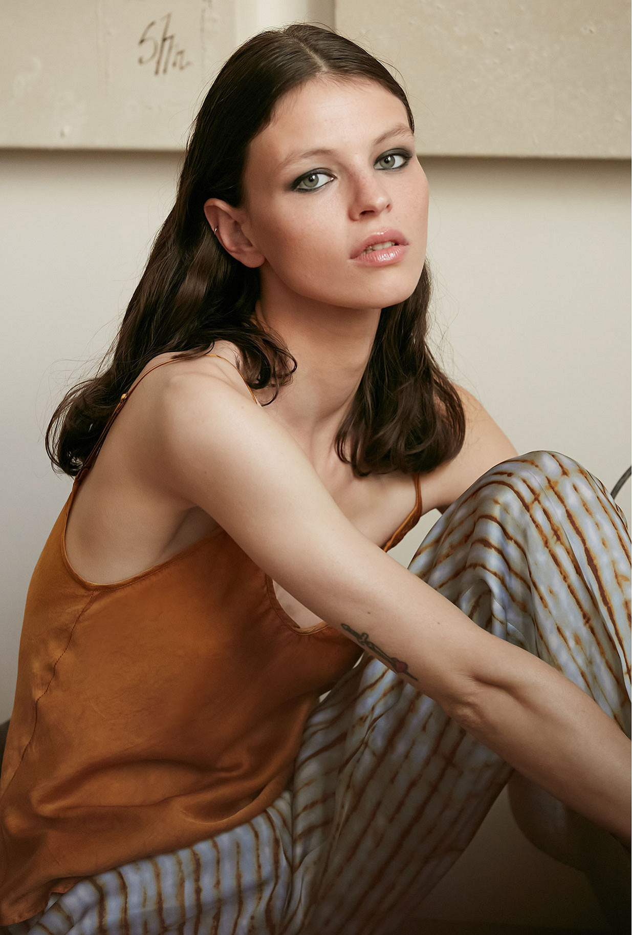 Top  Lisa Mes demoiselles fashion clothes designer Paris