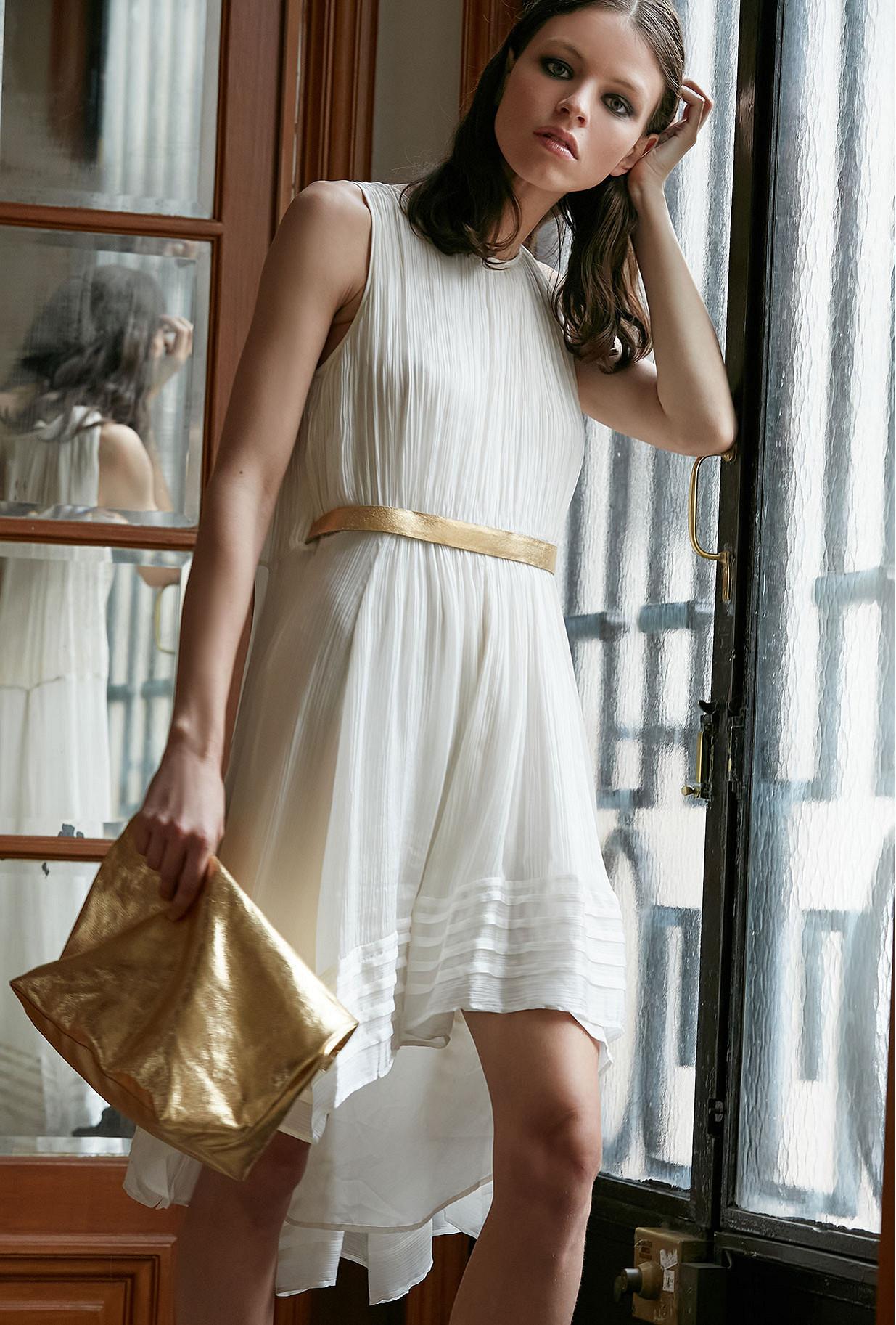 Ivory Dress Avalanche Mes Demoiselles Paris