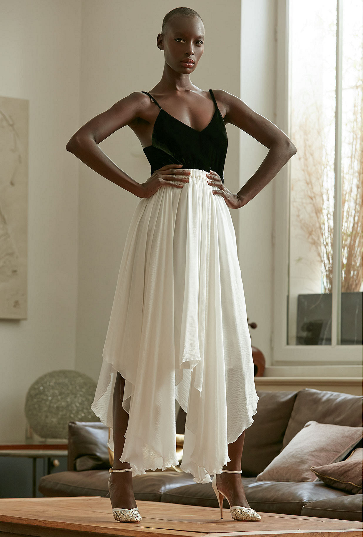Ivory Skirt Alizee Mes Demoiselles Paris