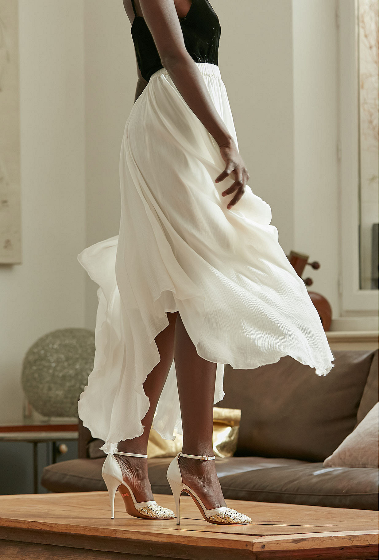 Jupe Alizee Mes Demoiselles coloris Ivoire