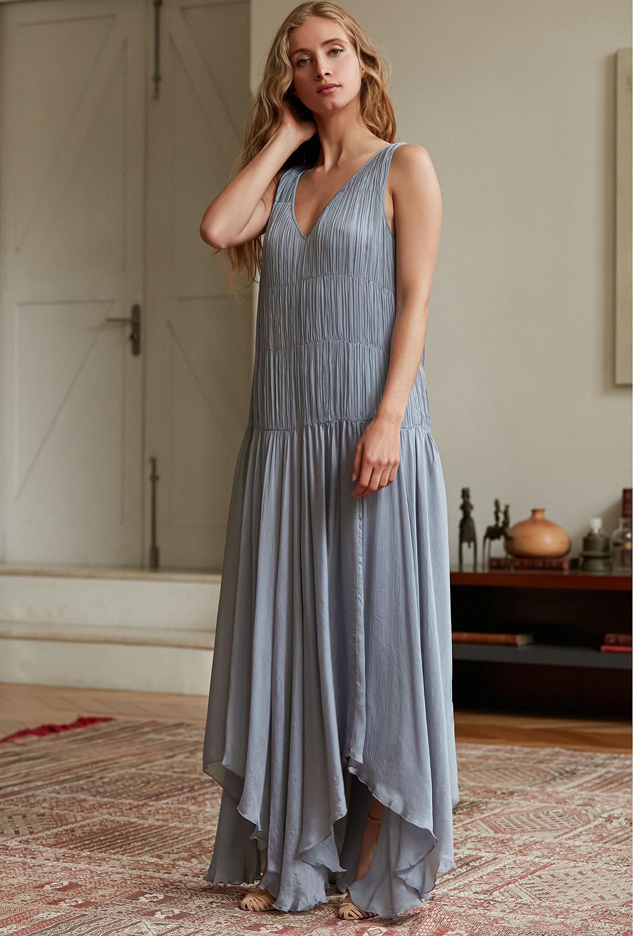 Blue  Dress  Amoureuse Mes demoiselles fashion clothes designer Paris
