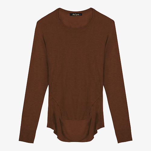 Sweater Storm Mes Demoiselles color Brown