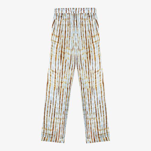 Blue print  Pant  Atrium Mes demoiselles fashion clothes designer Paris