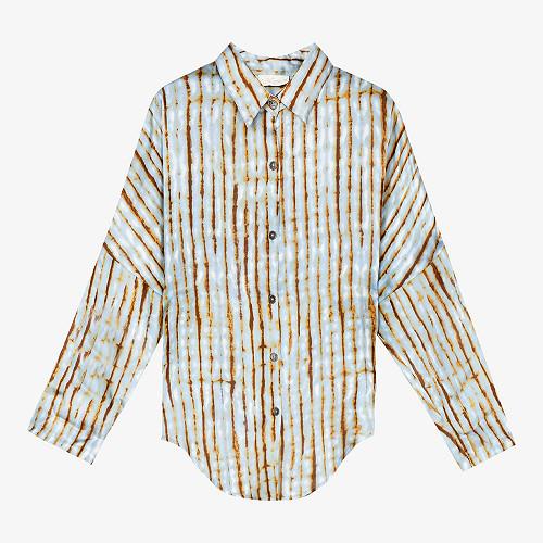 Shirt Augustin Mes Demoiselles color - Blue print -