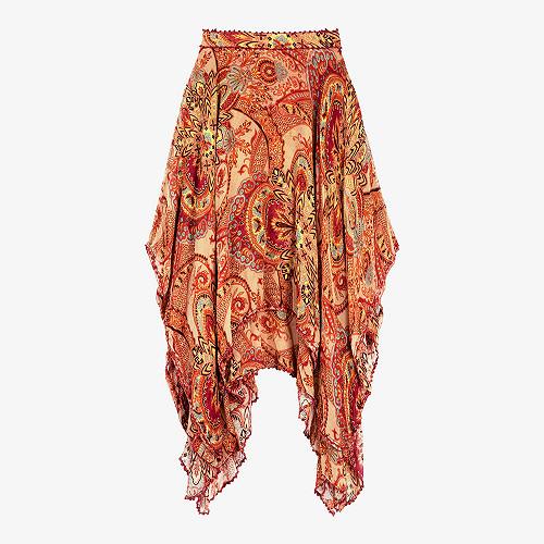 Skirt Living Mes Demoiselles color - Floral print -