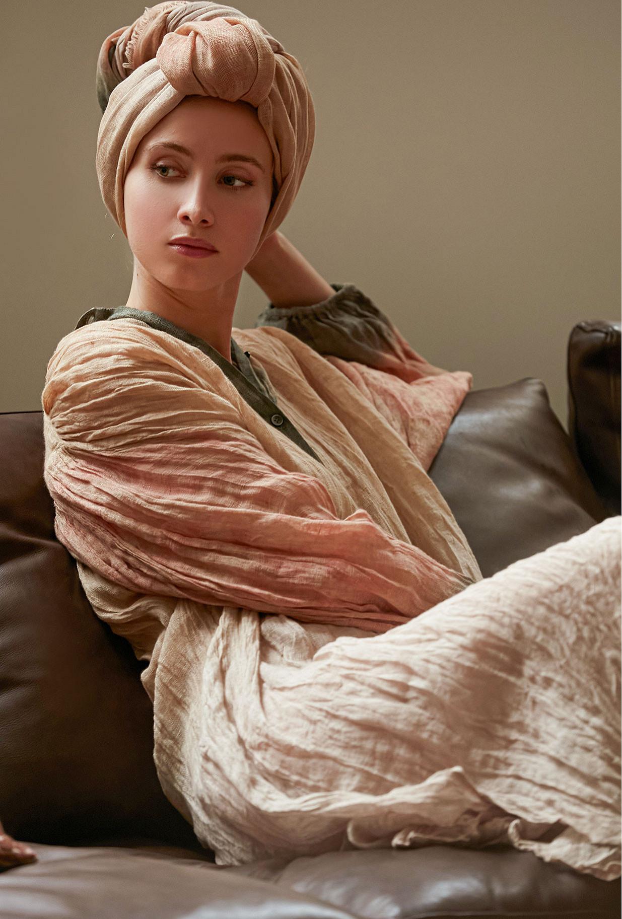 - Nude print - Dress Columbia
