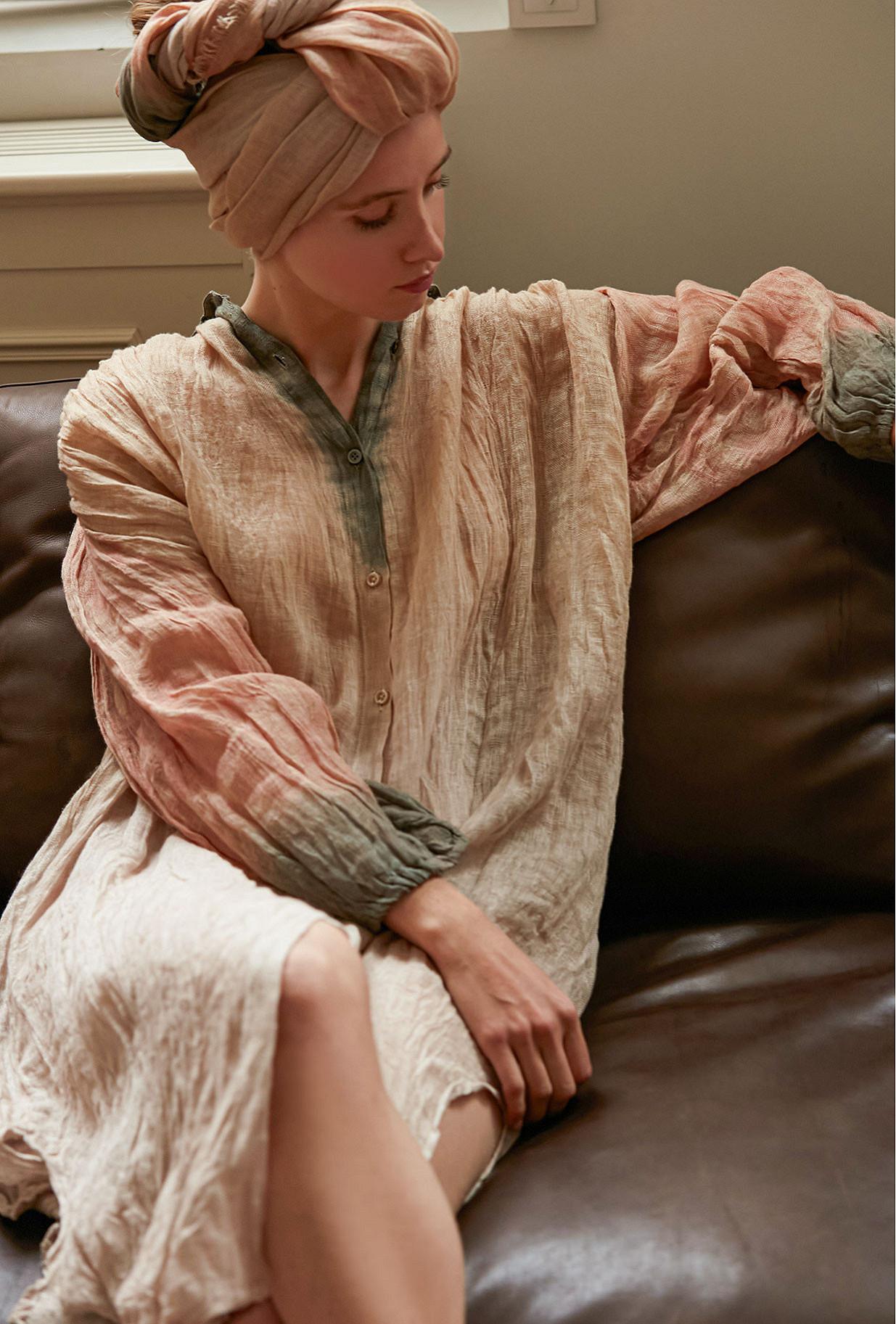 Robe Imprimé nude  Columbia mes demoiselles paris vêtement femme paris