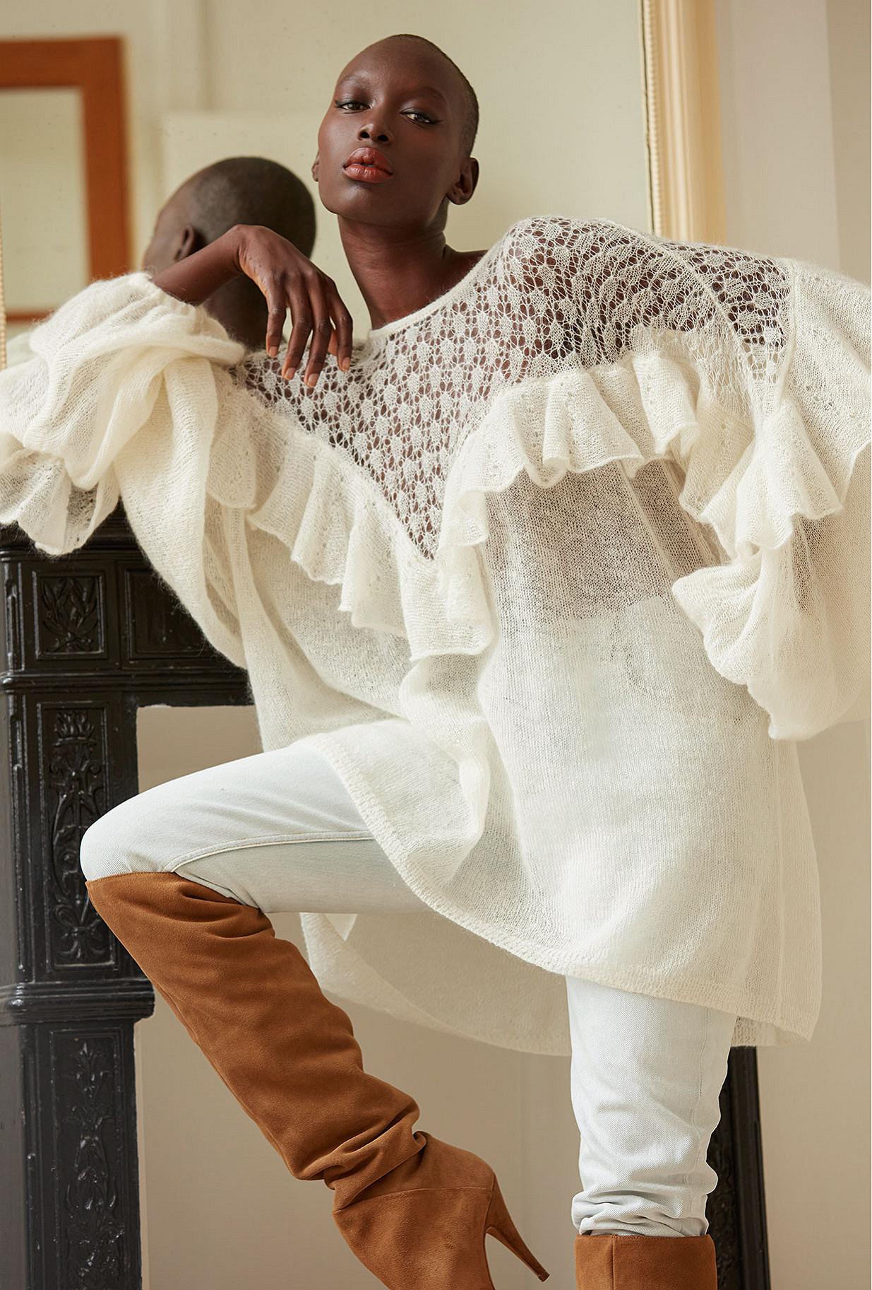 Ivory Sweaters Mauresque Mes Demoiselles Paris
