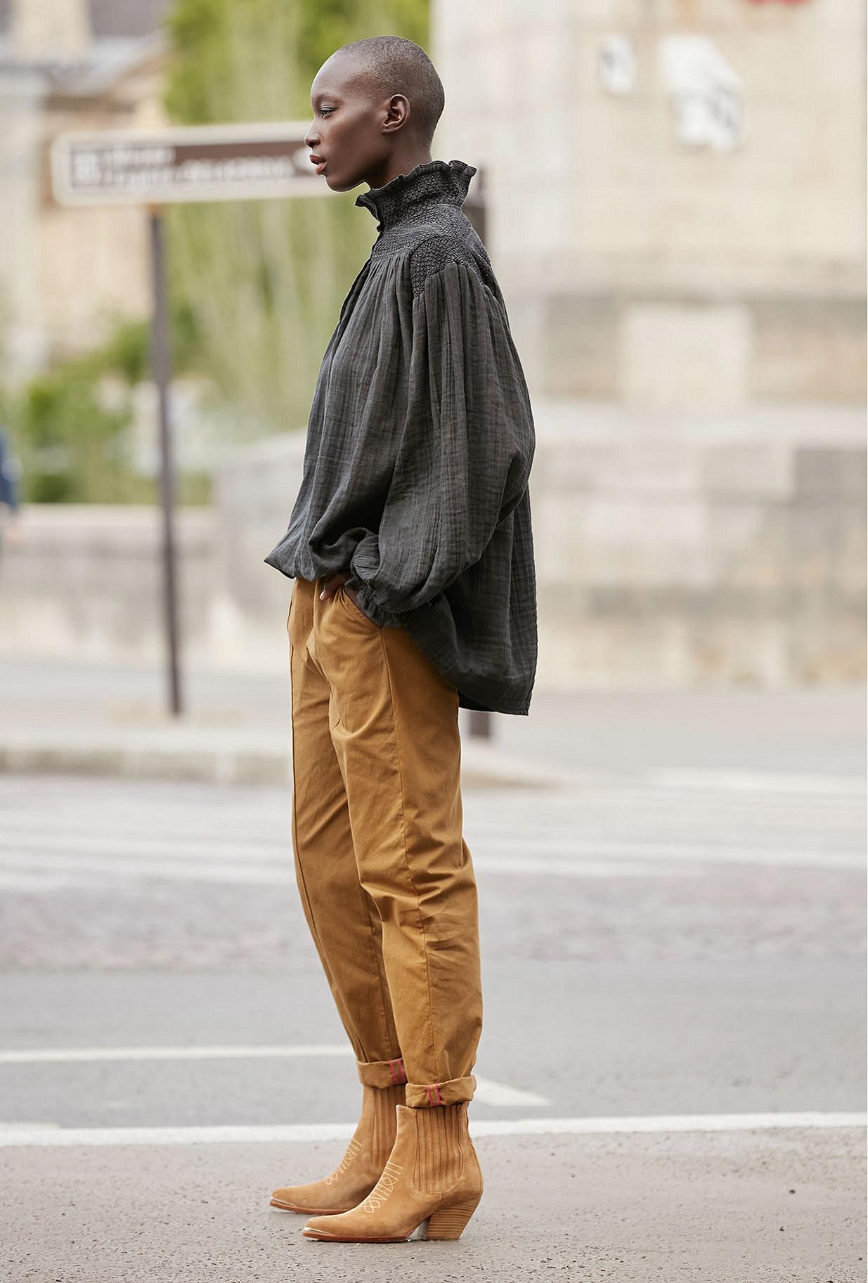 Pantalons Khaki Brook Mes Demoiselles Paris