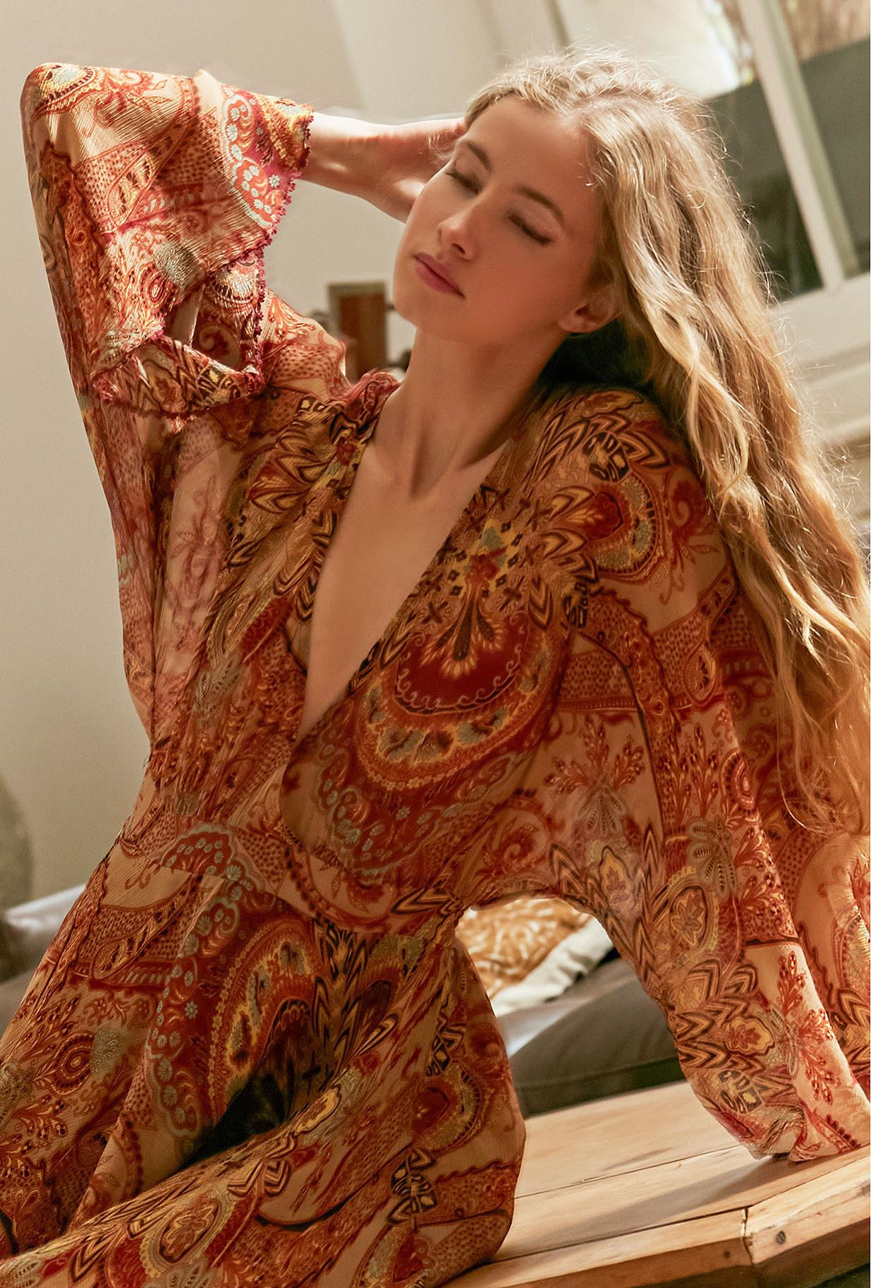 Floral print  Dress  Lauren Mes demoiselles fashion clothes designer Paris