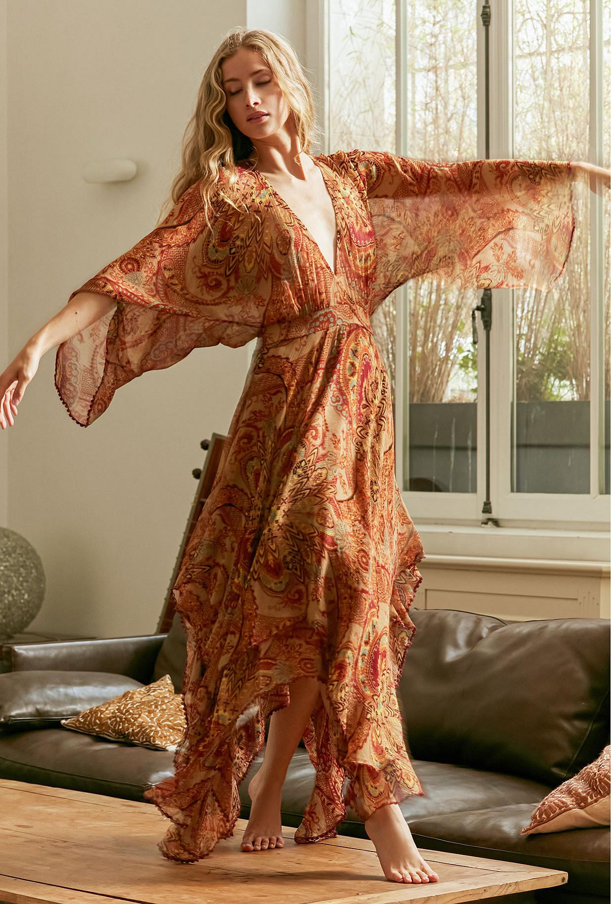 Robe Imprimé fleuri  Lauren mes demoiselles paris vêtement femme paris