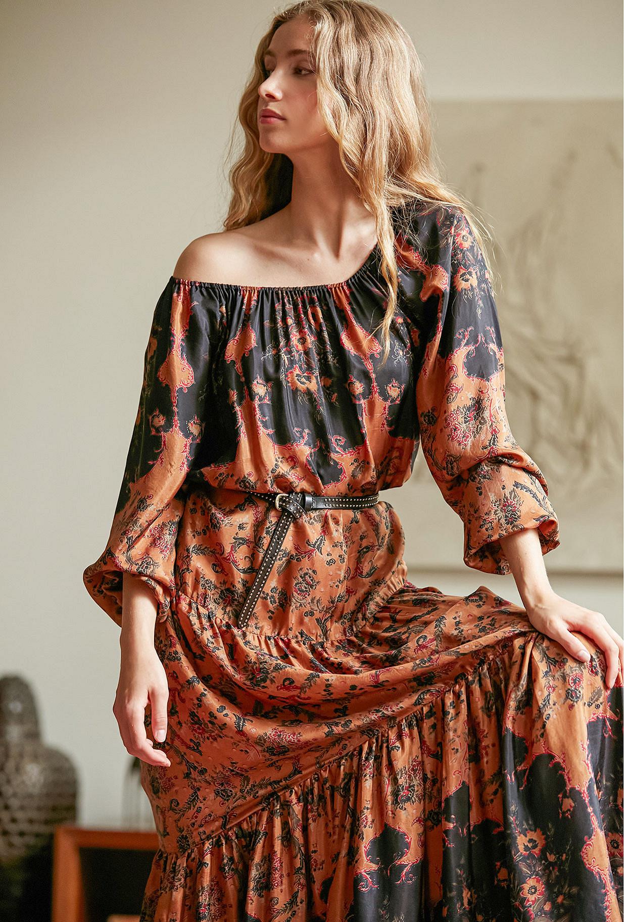 Robe Imprimé fleuri  Mexico mes demoiselles paris vêtement femme paris
