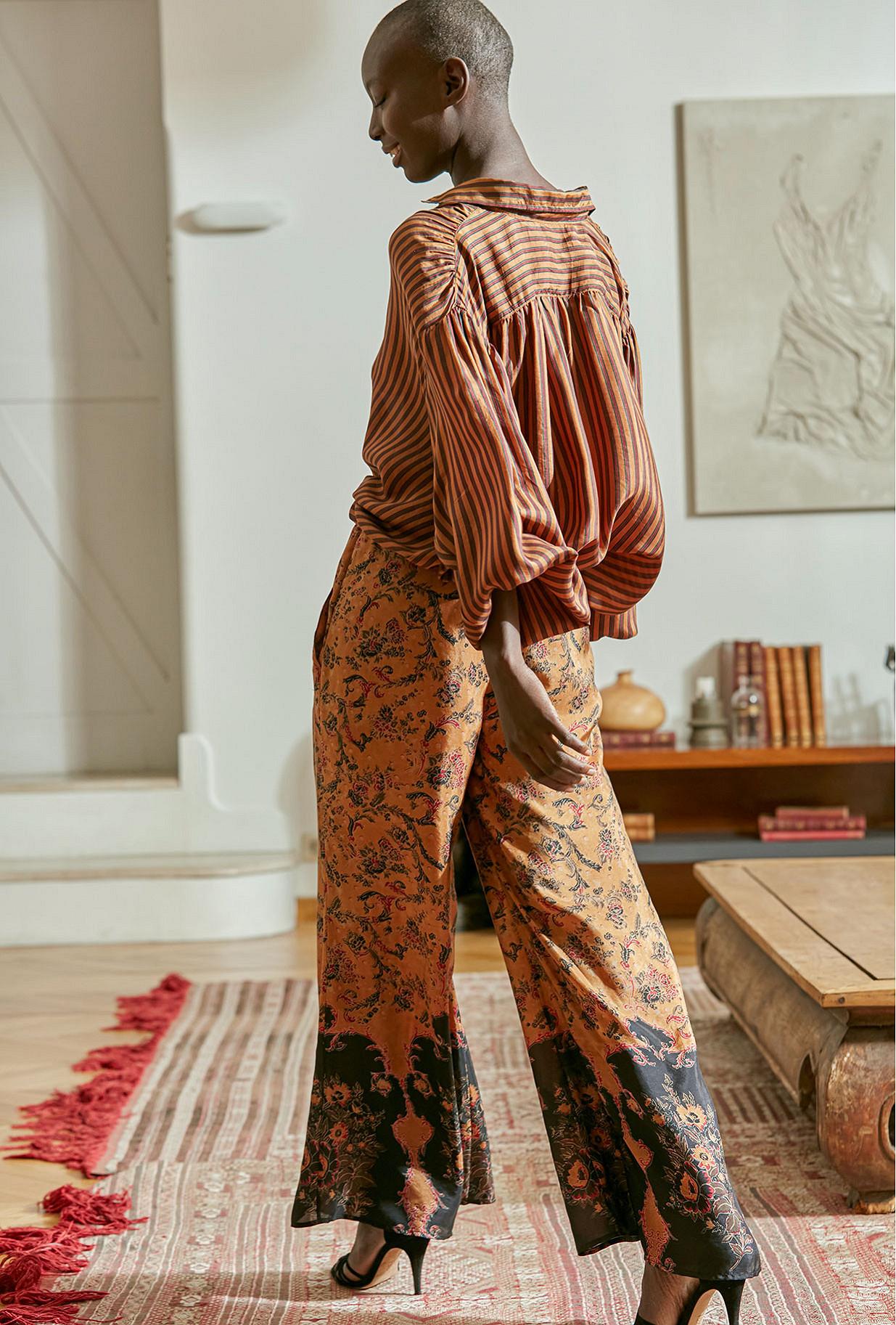 Pant Montana Mes Demoiselles color - Floral print -