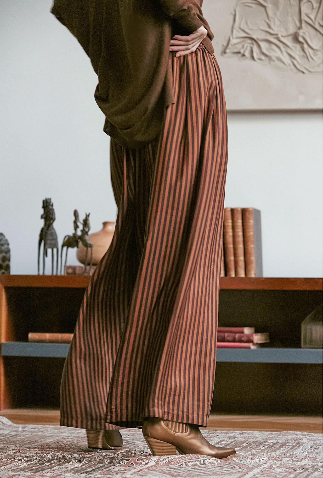 Pant Sabra Mes Demoiselles color Terracotta