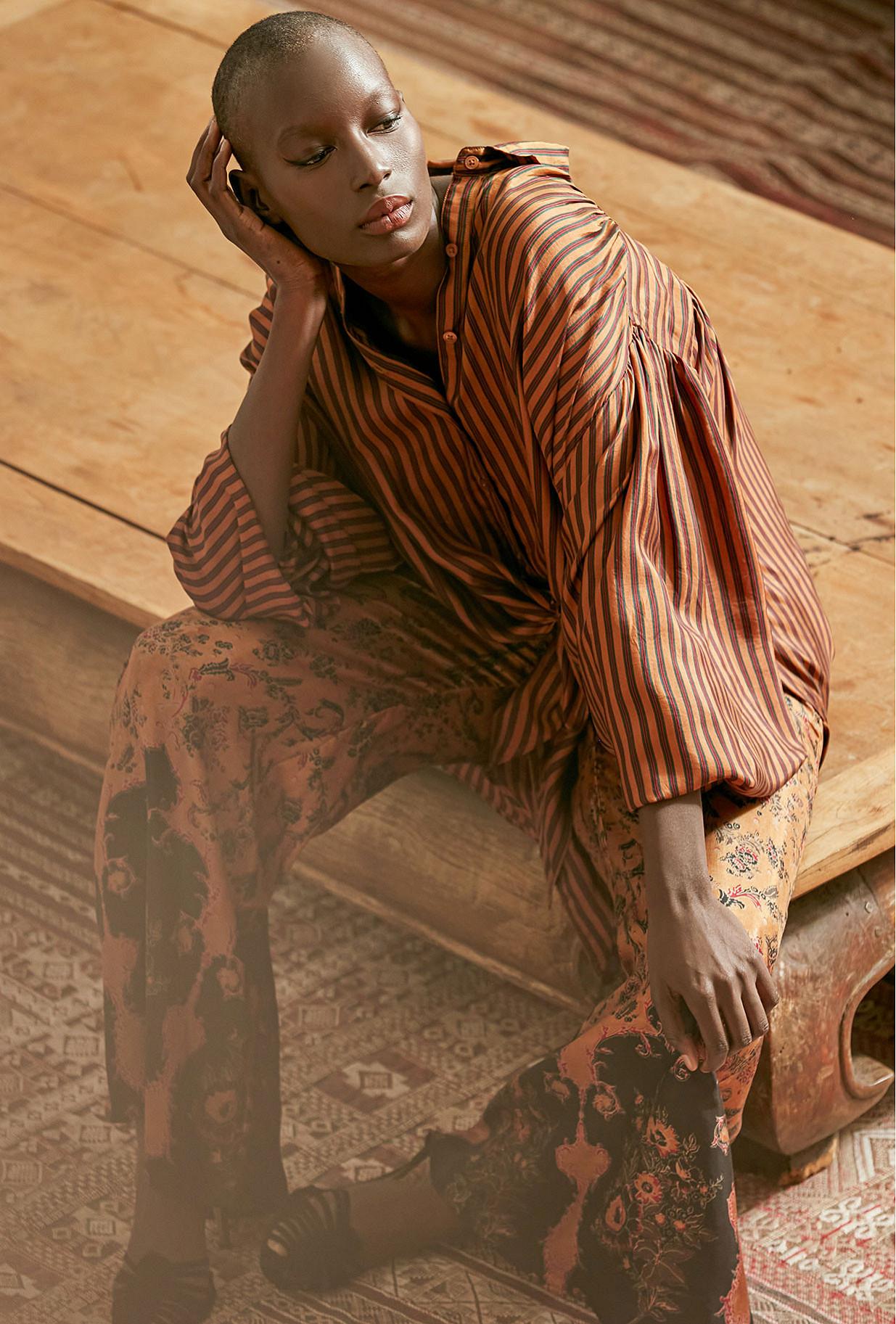 Chemise Terracotta  Sambuca mes demoiselles paris vêtement femme paris
