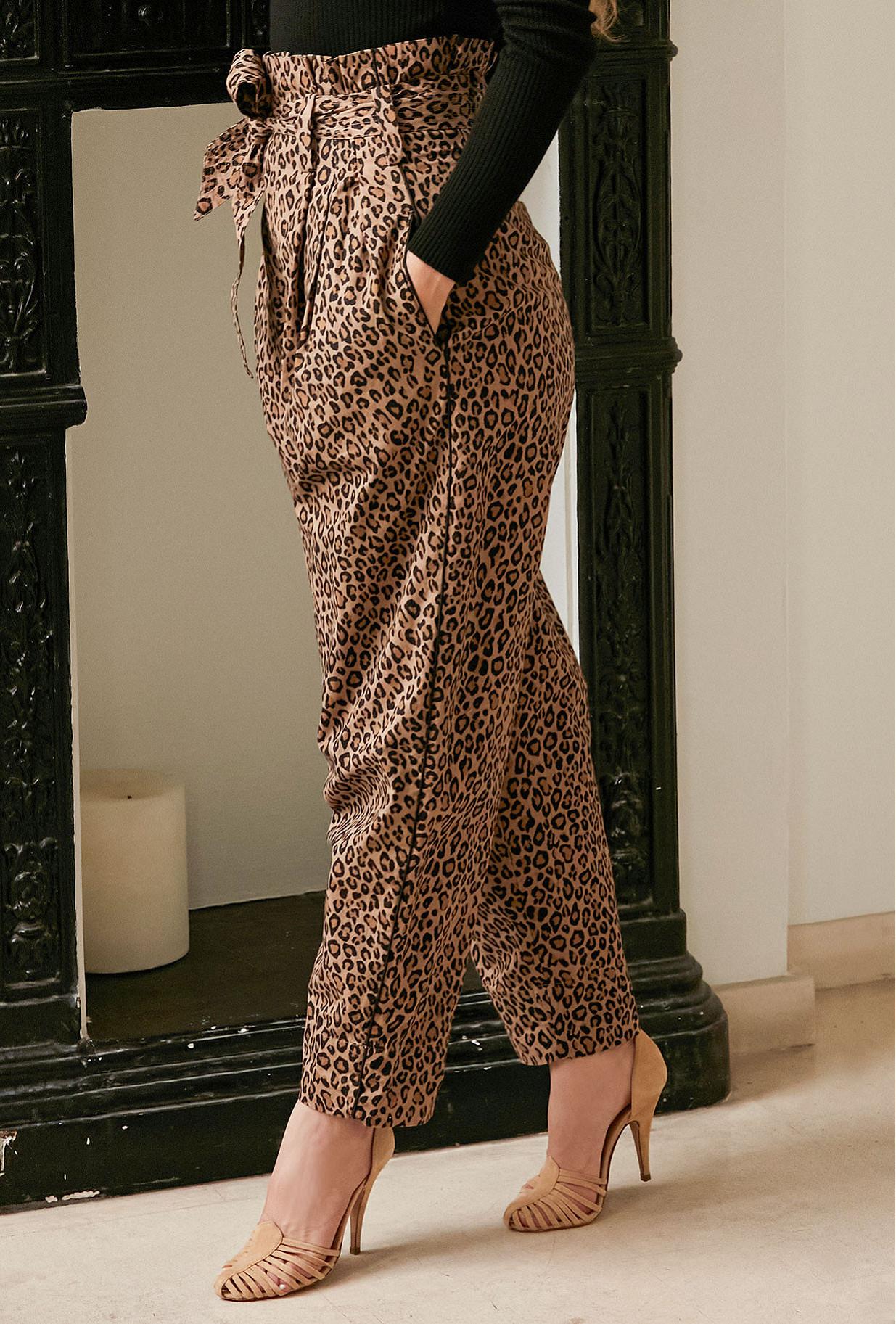 - Panther print - Pants Cheryl Mes Demoiselles Paris