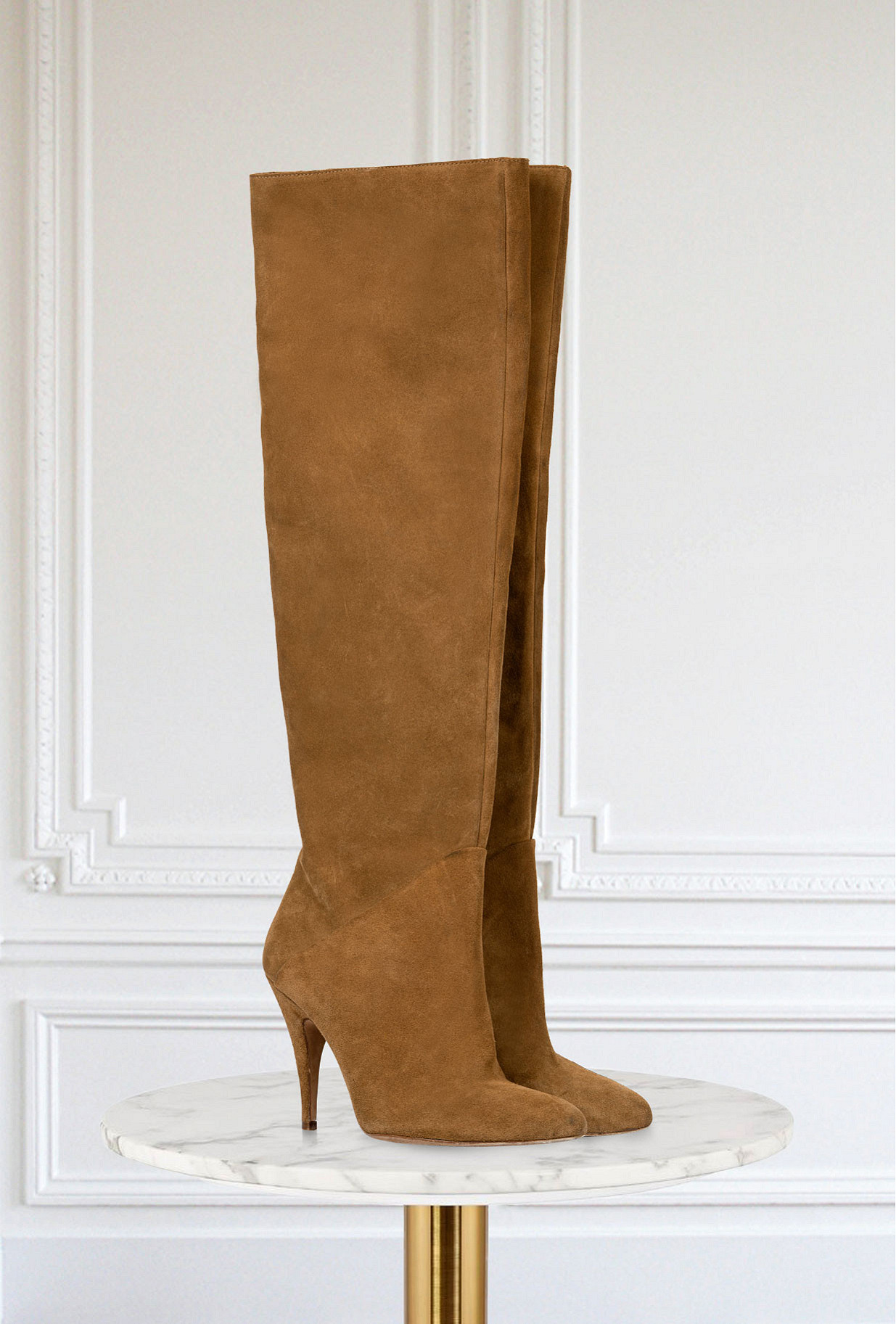 Suede Boots Dementes Mes Demoiselles Paris