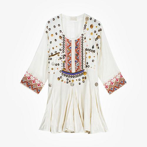 Ivory  Dress  Kooks Mes demoiselles fashion clothes designer Paris